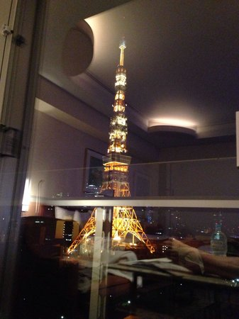 The Prince Park Tower Tokyo: Beautiful Tokyo tower view;)
