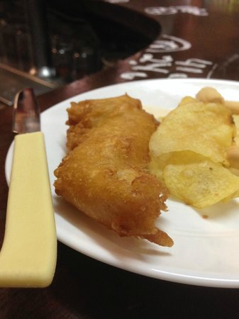 Bodega Santa Cruz: Bacalao (fried cod)