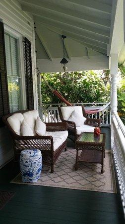 The Mermaid & The Alligator: Caribbean Queen wraparound porch