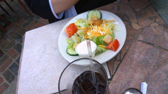 Cotton Patch Jazz & Blues Cafe: House salad