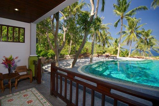 Tanote Villa Hill: Pool Side room