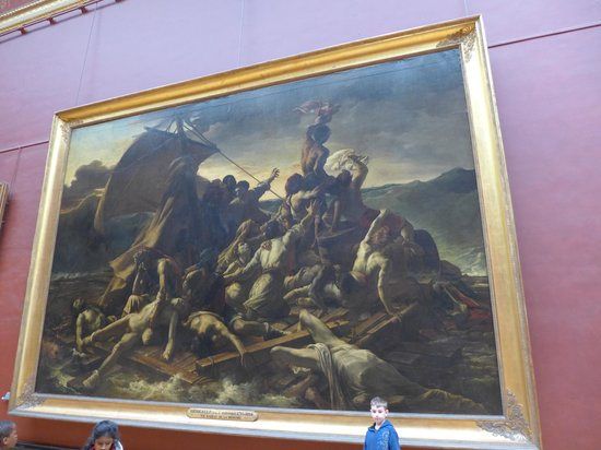 THATLou, Treasure Hunt at the Louvre : One of our finds!