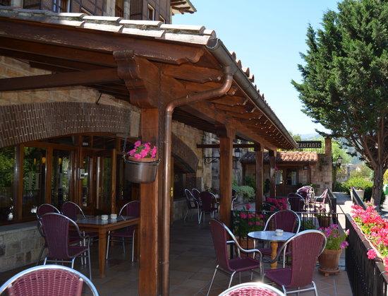 Infantado Hotel: terrazas