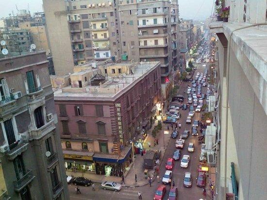 Cairo Moon Hotel: вид из окна