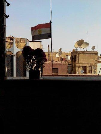 Cairo Moon Hotel: терасса