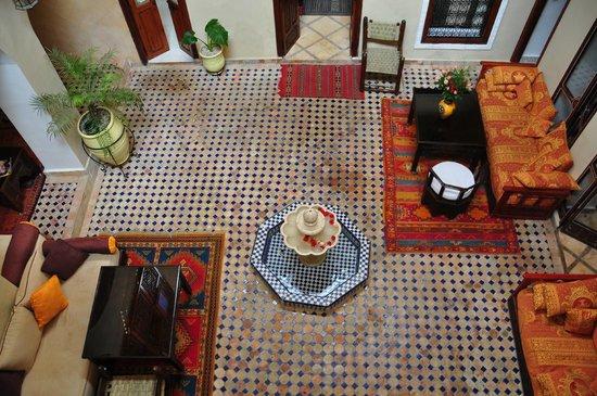 Riad Marana: Il patio