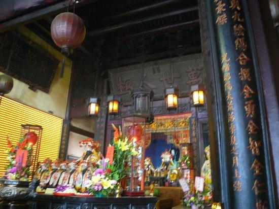 Ji Dian Wu Miao : 一番正面の廟