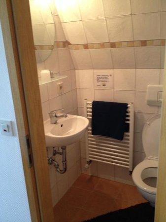 Inn Fraenkische Schweiz: Bad/WC