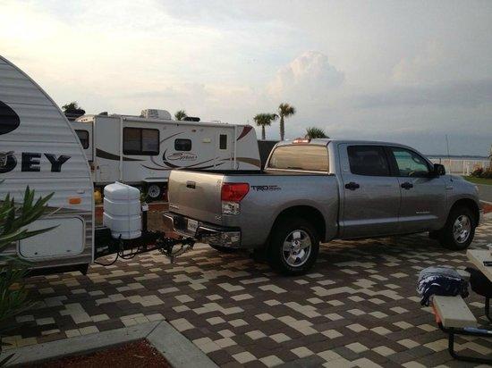 Destin West RV Resort : Site 14