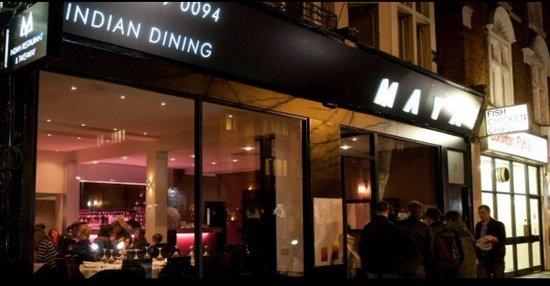 Maya Indian Restaurant Surbiton