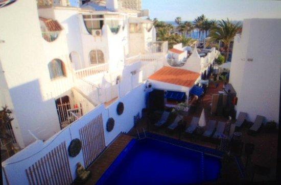 Playaflor Chill-Out Resort: вид с крыши