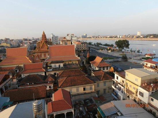 The Frangipani Royal Palace Hotel : Desde la terraza del hotel
