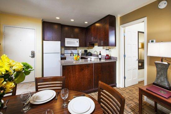 Winners Circle Resort : In Room Kitchen in Two Bedroom Suite