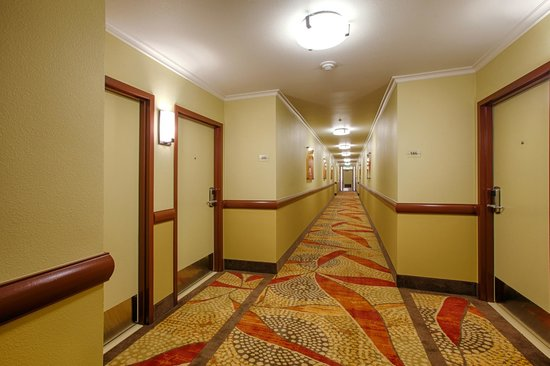 Winners Circle Resort: Newly Redesigned Hallway Interior