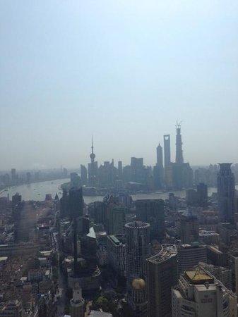 Le Royal Meridien Shanghai: Vista de la ciudad desde mi cuarto.