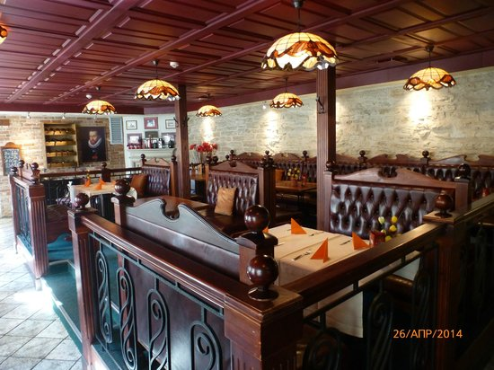 Hotel Imperial: Интерьеры ресторана