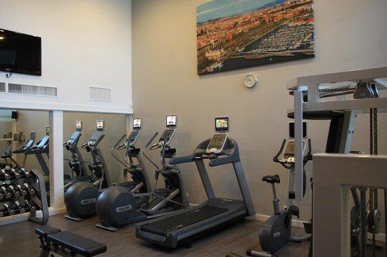 Hilton Barcelona: salle fitness