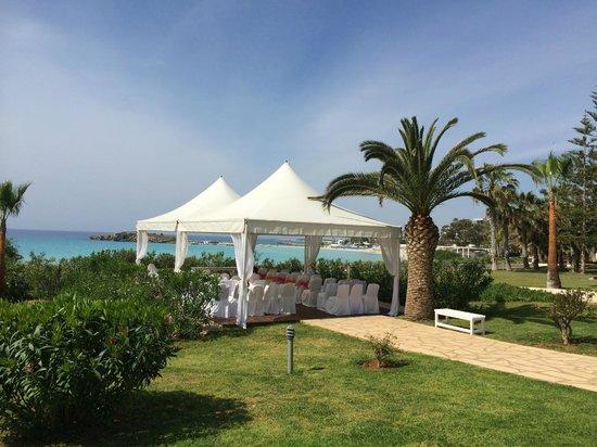 Nissi Beach Resort: Hochzeiten für Romantiker