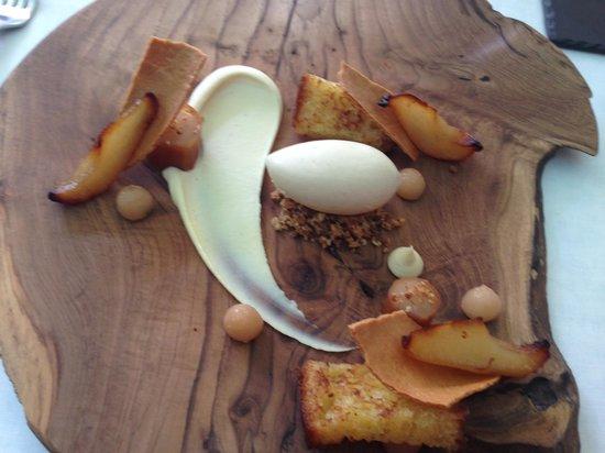La Colombe: Pear Dessert