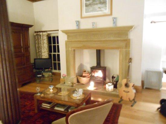 Hellifield Peel Castle: The square room