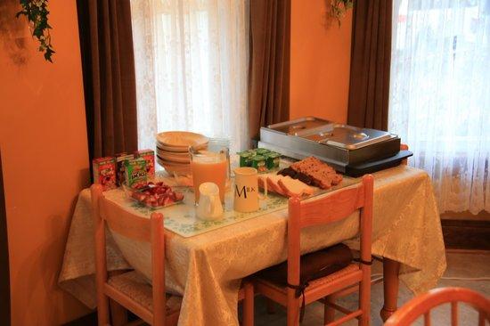 Always Inn Bed & Breakfast: Individuell zubereitetes Frühstück - sehr lecker!