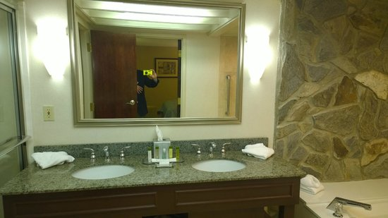 Doubletree by Hilton Augusta : Bathroom