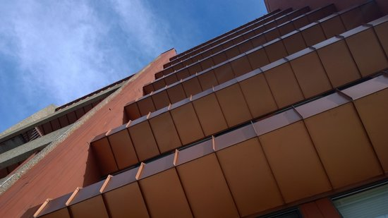 Beaver Run Resort and Conference Center : View looking up at Building 3