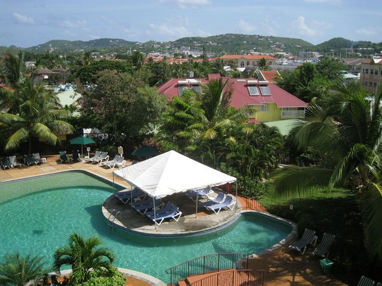 Coco Palm Resort : room with a view