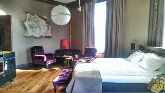 Stora Hotellet Umea: Beautiful room with river view