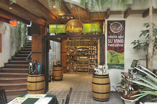 Hotel Balmoral: Wine Shop