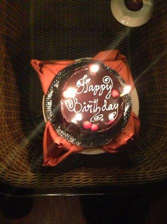 Kumarakom Lake Resort: the birthday cake
