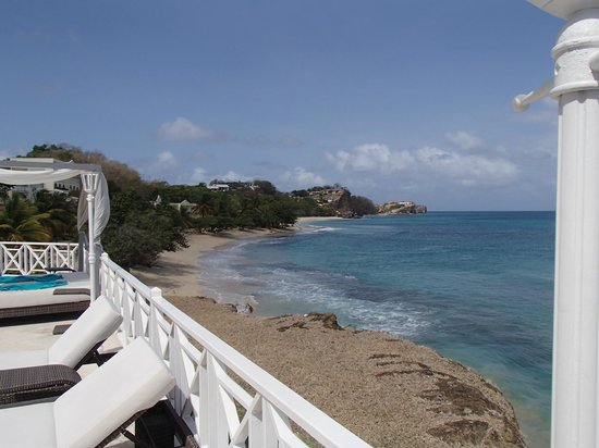 Grenadian by Rex Resorts: View from the pool deck