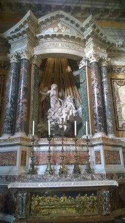 Extase de Sainte Thérèse : Экстаз св. Терезы в церкви Санта Мария делла Витториа