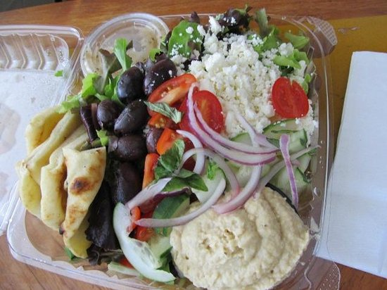 Pupukea Grill: Greek salad