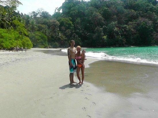 Waterfall Villas: Manuel Antonio tour/beach