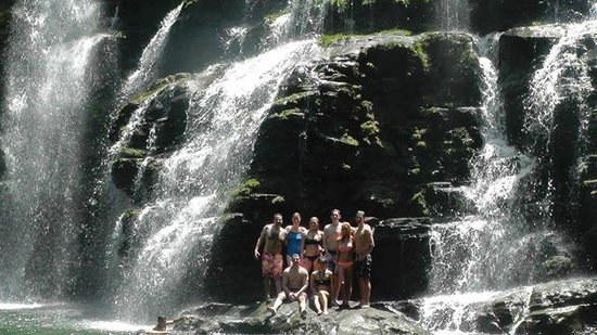 Cascadas Farallas Waterfall Villas: Nauyaca Falls