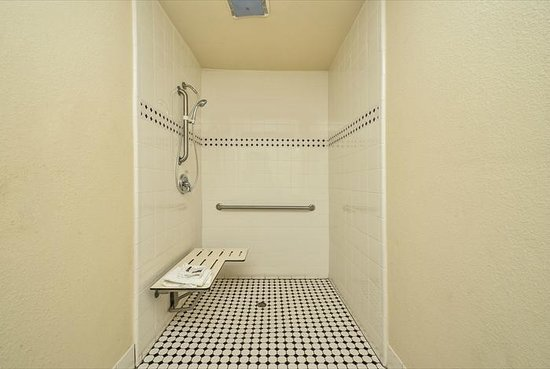 Crown Motel: Accessible Shower
