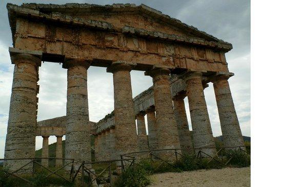 Tempio di Segesta: Segesta temple, Sicily