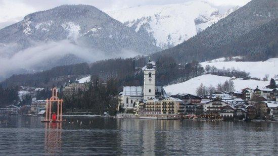 Vitalhotel Wolfgangsee: St. Wolfgang vom See aus