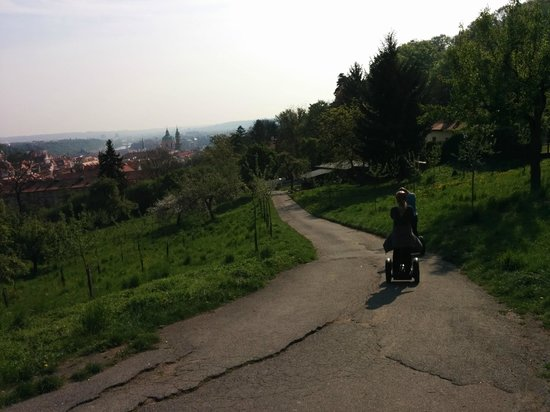 Prague On Segway, on E-Scooter, on Quad : some of the view along the road