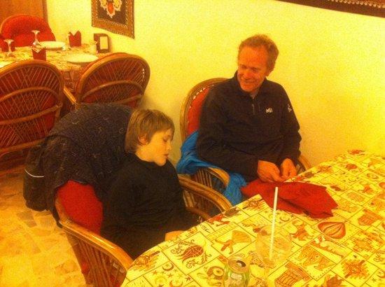 Old Cappadocia Cafe & Restaurant: Tres bon accueil et repas vraiment bien . Ali  est top. une tres bonne table à goreme .il faut a