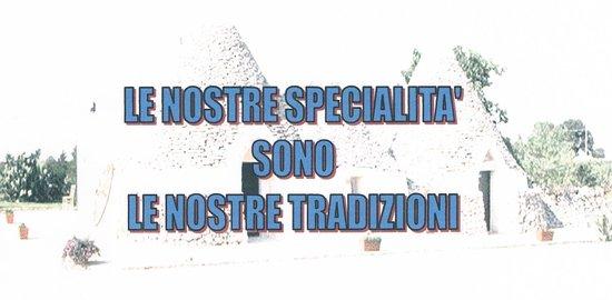 Ristorante Caffe San Giorgio: Le Nostre Tradizioni
