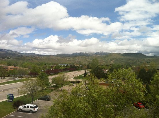 Holiday Inn Express Boise University Area : Amazing View From The Hotel