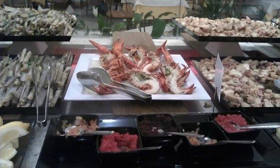 Iberostar Andalucia Playa: Estupendo Buffet, gracias a los cocineros