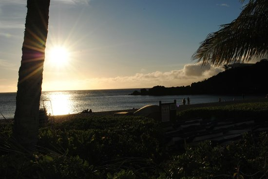 Sheraton Maui Resort & Spa: another sunset as seen from the luau grounds