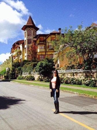 Hotel Le Renard: Vista de fora