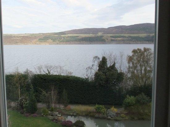 Loch Ness Lodge: Zimmeraussicht
