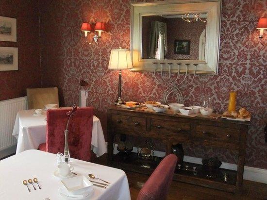 Loch Ness Lodge: Frühstücksbuffet