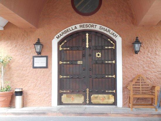 Marbella Resort: ресепшен
