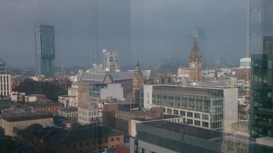 Mercure Manchester Piccadilly Hotel : View